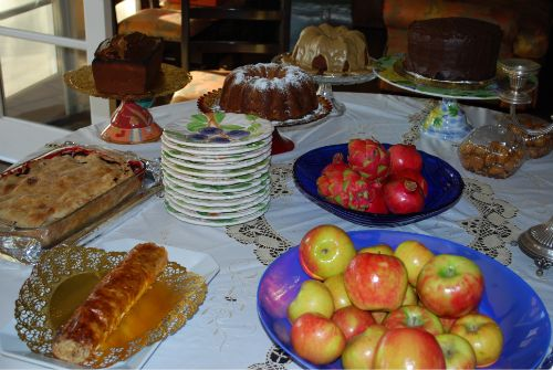 rosh hashanah menu recipes 2017