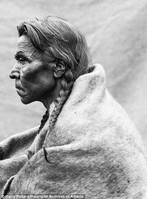 A profile of Old Tom of the Tsuu T'ina Nation