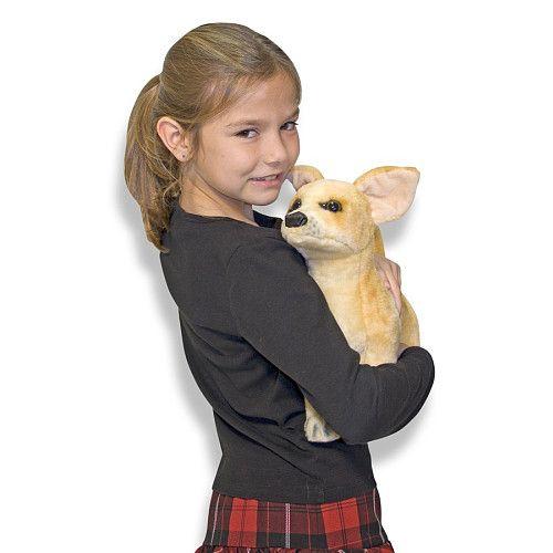"Melissa & Doug Lifesized and Lovable Chihuahua -  Toys ""R"" Us Same price at melissaanddoug.com"