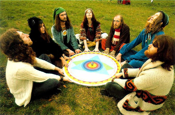 """Psychedelic Rock Band """"Gong"""" in 1974"""