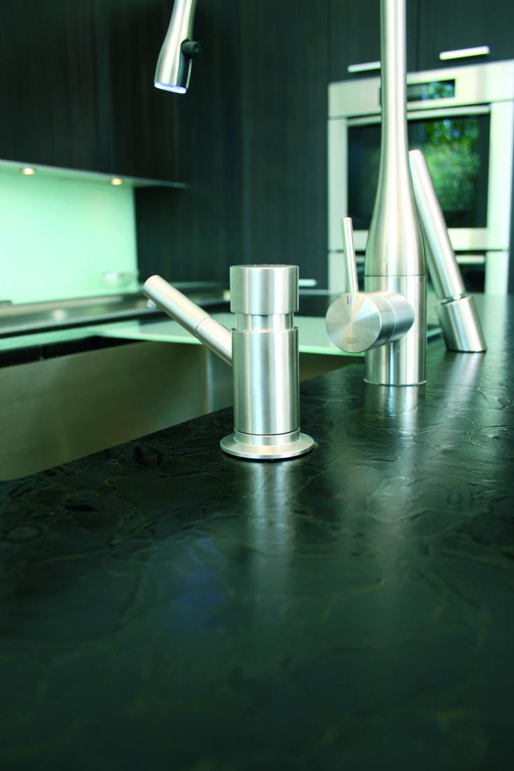 Great Bio Glass Countertops #11 - Bio-Glass Countertop