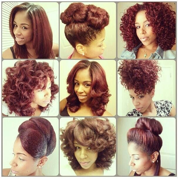 Versatility of natural hair