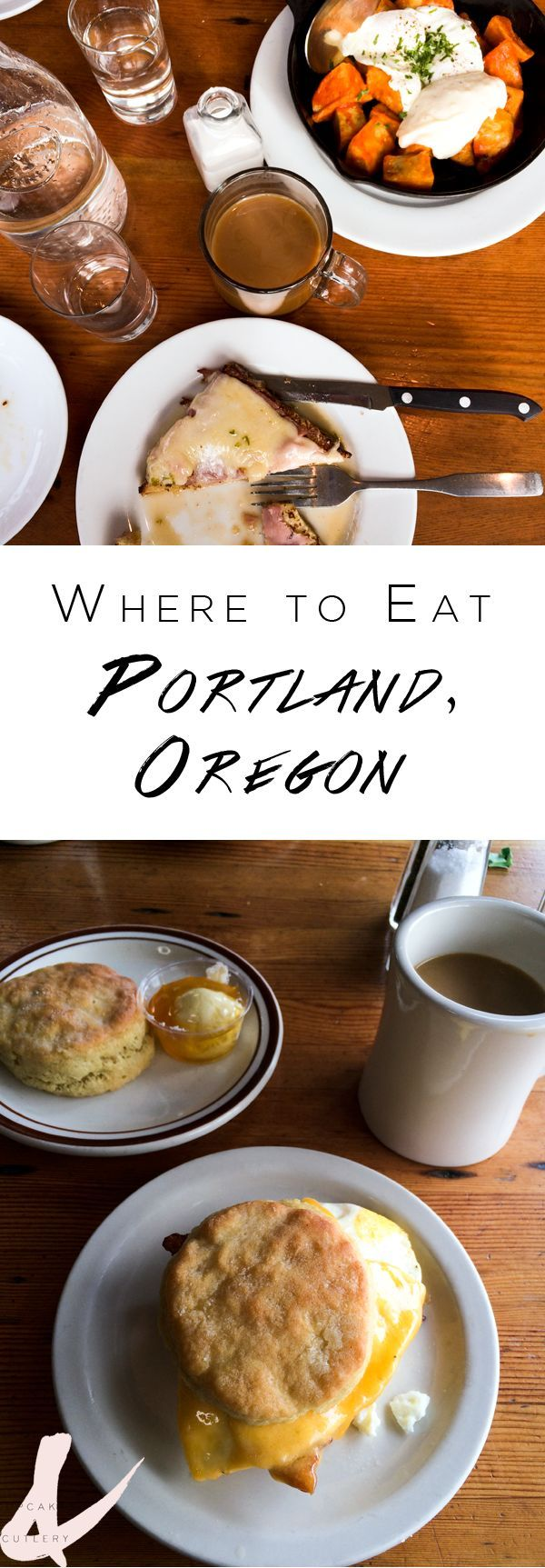 If you are a foodie, you'll want to pin this post for your next visit! Portland, Oregon has so many great restaurants and food culture. If you love to eat, this is where you'll want to travel to next.