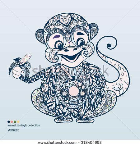 Стоковые фотографии и изображения вектор обезьян | Shutterstock
