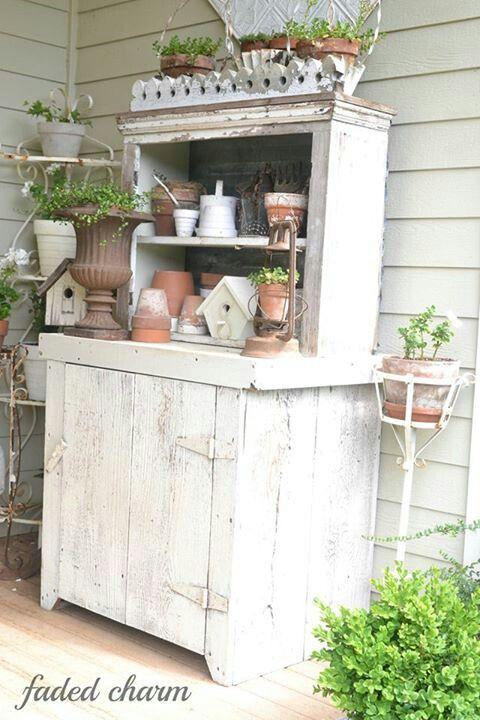 Shabby garden deko! Garden Pinterest
