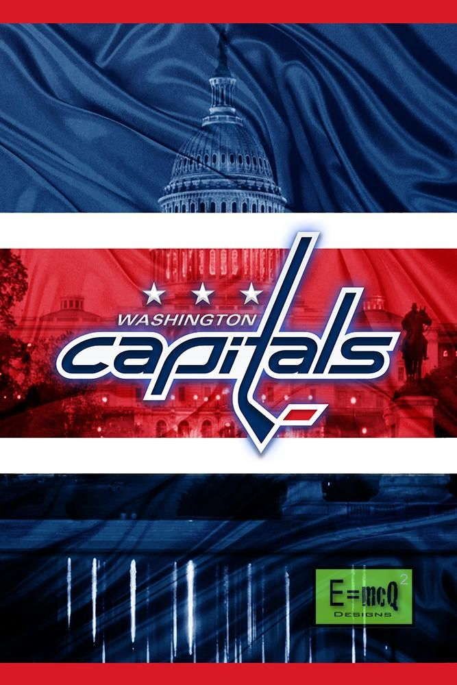Washington Capitals Hockey Poster, Washington Capitals Gift, Capitals                       – McQDesign