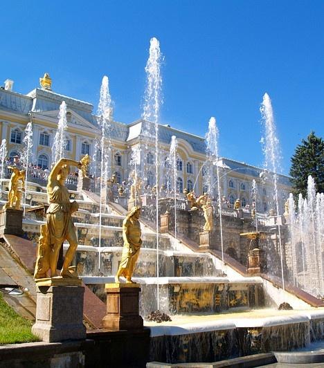 Peterhof Palace- St. Petersburg, Russia