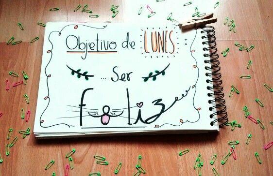 Ser FELIZ #Monday #Lunes #Happy #HandDrawing #Ilustration #Draw #Typography #nbm #rayon