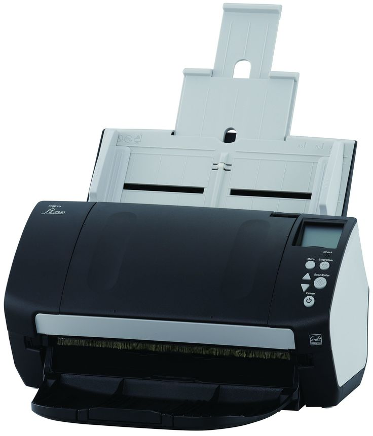 Fujitsu PA03670-B005 Document Scanner. 80 ppm/160 imp in color, grayscale, and monochrome at 200/300 dpi. 80-Page automatic document feeder (ADF). Dual color charge coupled device (ccd) Image sensor.