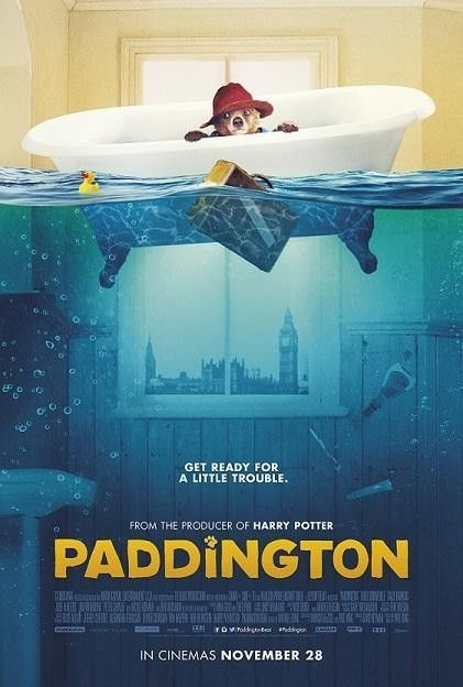pictures of paddington bear de | New Movie Posters: 'Warcraft,' 'Paddington,' 'The Hobbit: Battle of ...