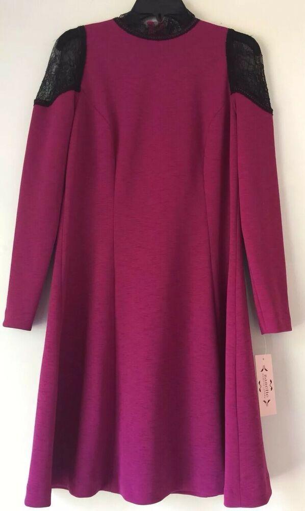 Nanette Nanette Lepore Lace Trim A Line Dress Size 10 149 00 Fashion Clothing Shoes Accessories Womenscloth A Line Dress Fashion Forward Dress Dresses