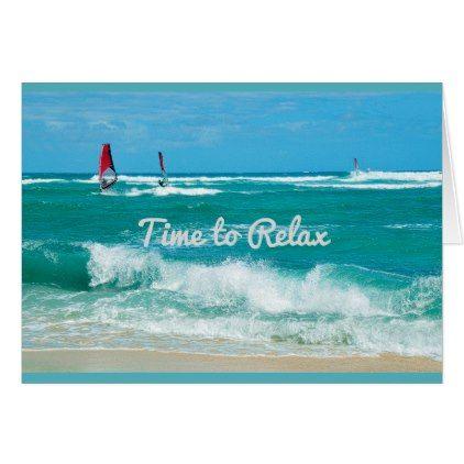#Hawaiian Ocean Waves Birthday Card - #birthday #gifts #giftideas #present #party
