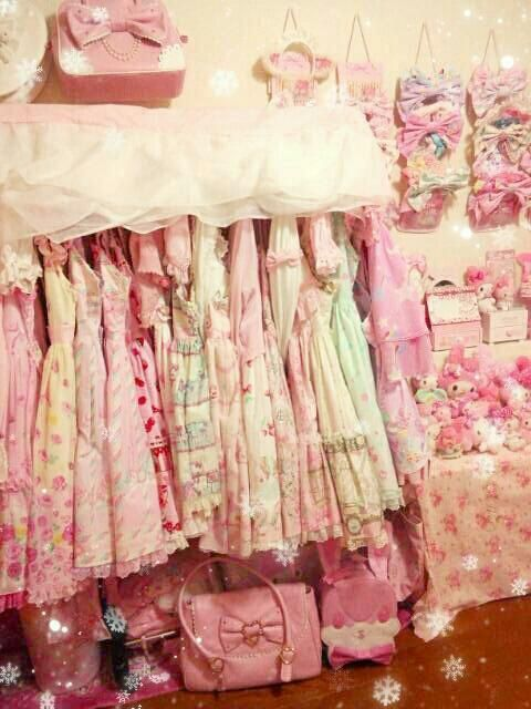 Kawaii sweet lolita decor