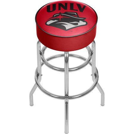 Trademark Global Unlv 31 inch Padded Bar Stool, Multicolor