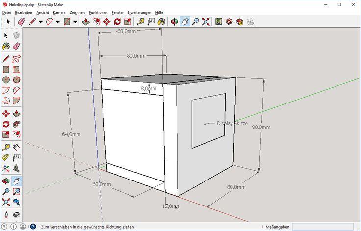 16 besten sketchup projekte bilder auf pinterest bauanleitung diy projekte und elektro. Black Bedroom Furniture Sets. Home Design Ideas