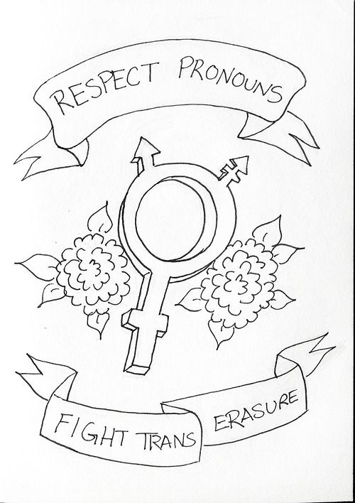 respect pronouns. I could turn this into a really cool embroidery project.