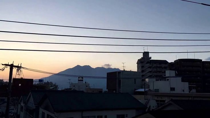 二十四節気「小満」の朝日と桜島をタイムラプスで iPhone 6s plus