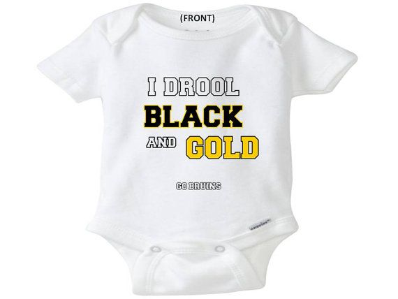 Boston Bruins onesie toddler shirt creeper bodysuit Boston Bruins NHL cute awesome baby shower gift christmas on Etsy, $14.99