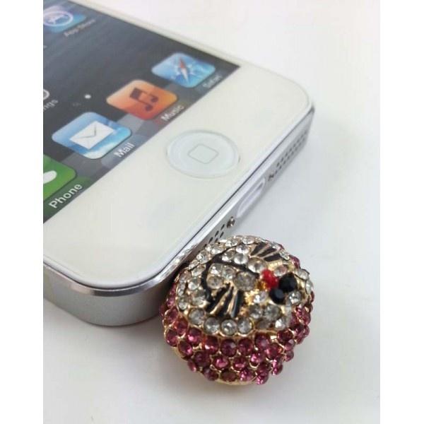 Cep Telefonu Küpesi The Cat    3.5 mm Kulaklık girişi olan tüm telefonlarla uyumludur.  Taşları kalitelidir.  https://www.telefongiydir.com/3.5-mm-cep-telefonu-kupesi-the-cat?filter_name=k%C3%BCpe