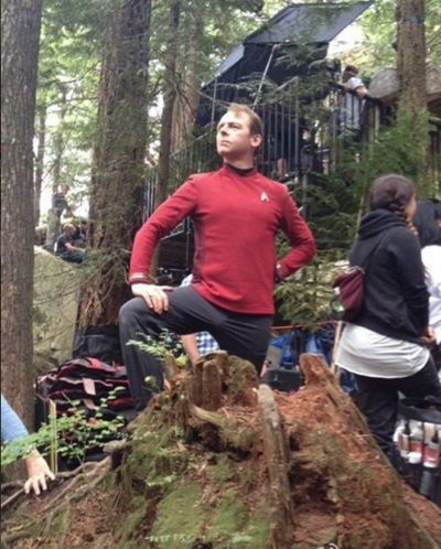 Star Trek Beyond | Behind the scenes - Simon Pegg