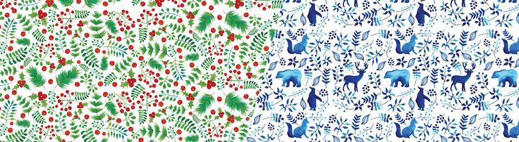 Christmas wrapping paper on Behance