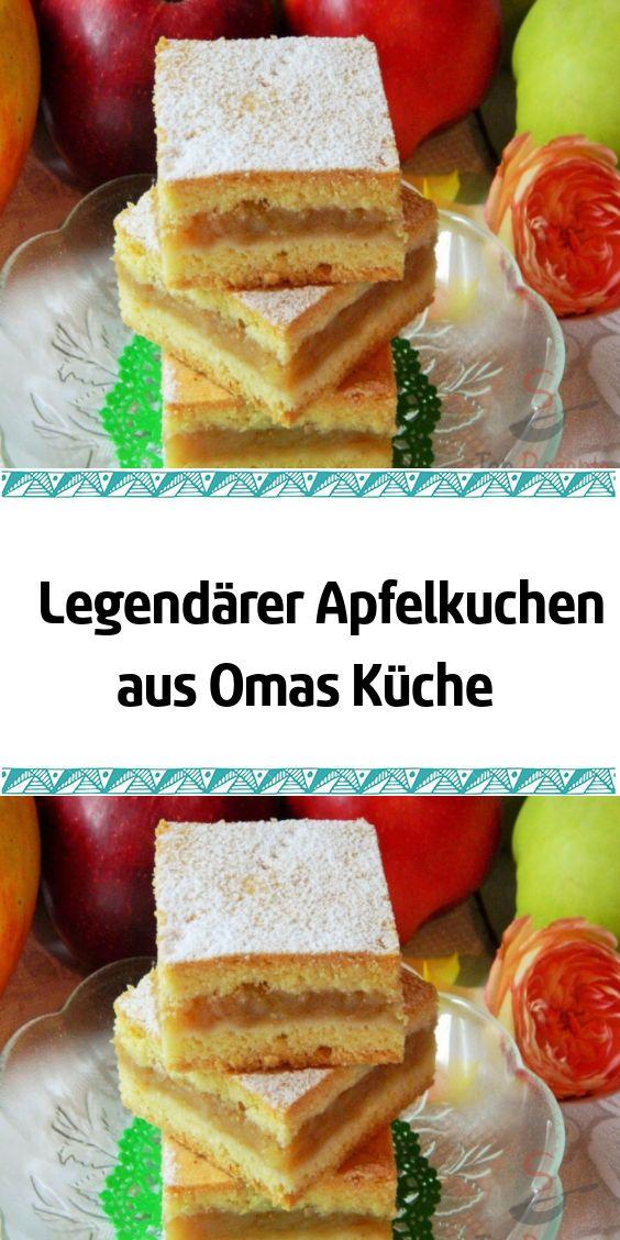 Legendärer Apfelkuchen aus Omas Küche
