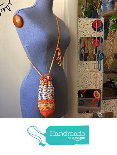 BORSE SOLELUNA - borsetta a uncinetto arancione . pezzo unico fatto a mano da Soleluna handmade creations https://www.amazon.it/dp/B06ZY6QCW1/ref=hnd_sw_r_pi_dp_wmi.ybT2DATPK #handmadeatamazon