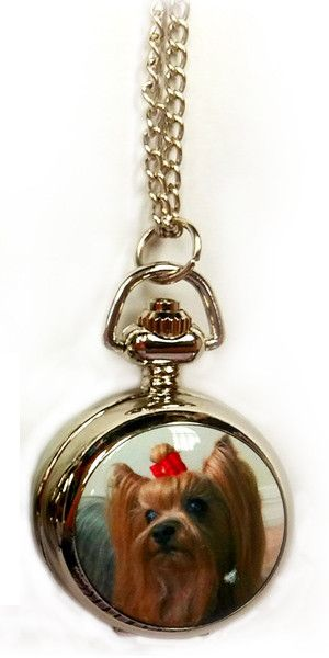 Yorkie pendant watch pendants products and yorkie yorkie pendant watch aloadofball Choice Image