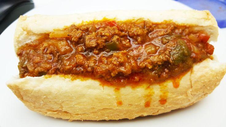 Woonsocket's Dynamite (sloppy joe) Sandwich