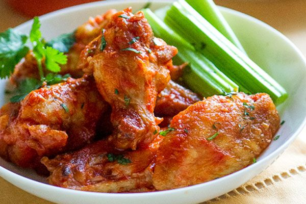 Skinny Tailgating Recipes - Better-for-You Buffalo Wings