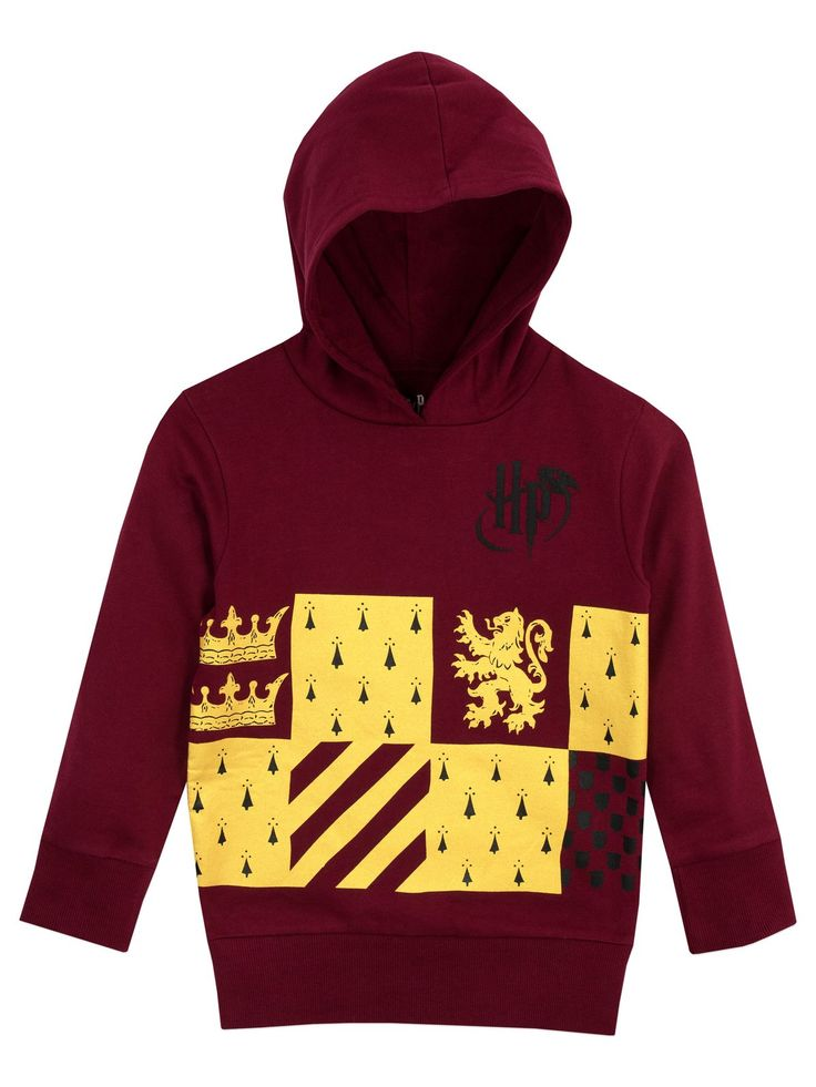 Head out for great adventures in this Gryffindor hoodie. Available in sizes 5 to 13 Years. Officially licensed Harry Potter Merchandise.