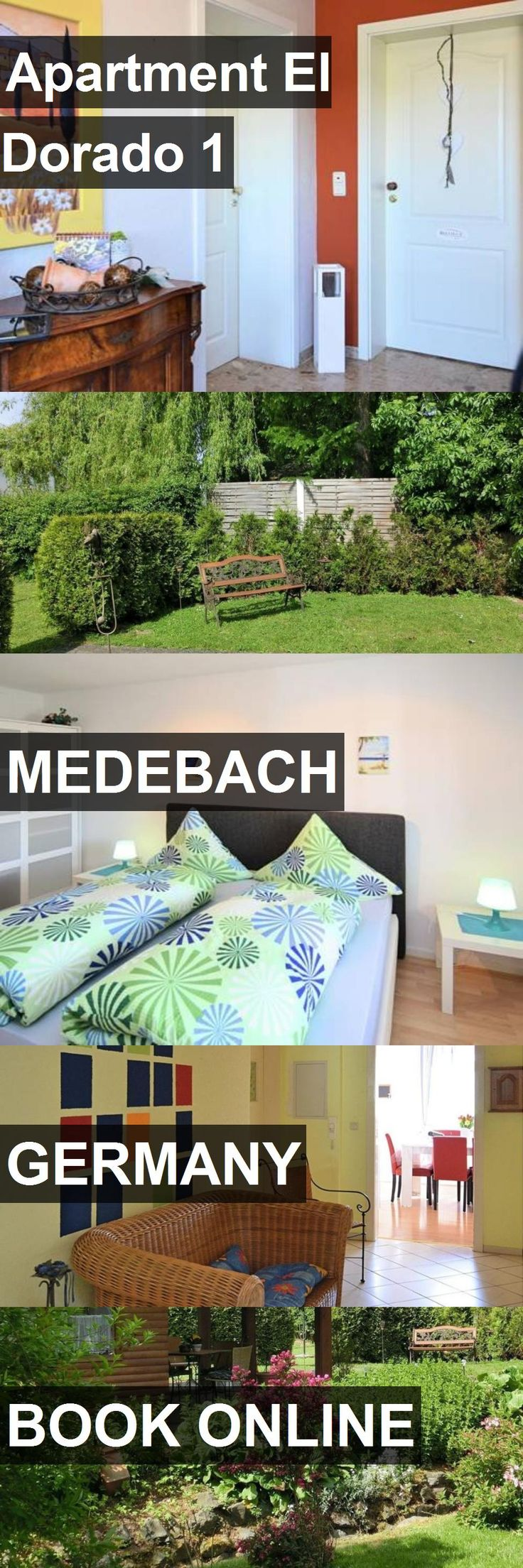Hotel Apartment El Dorado 1 in Medebach, Germany. For more information, photos, reviews and best prices please follow the link. #Germany #Medebach #ApartmentElDorado1 #hotel #travel #vacation