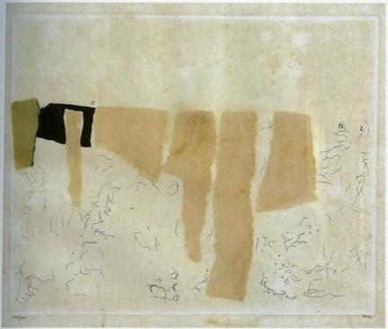 Muffa - 1959 - Alberto Burri  www.artsblog.it