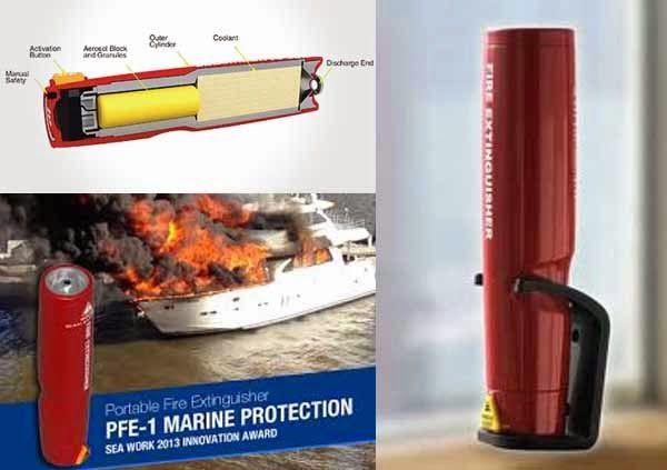 Pemadam Api Portable Terkecil di Dunia. DKL Fire Extingusher adalah pemadam kebakaran yang menggunakan Gas Aerosol. DKL Fire Extingusher merupakan alat pemadam api kebakaran portable. Dg teknologi Gas terbaru yang lebih ramah lingkungan, karena tidak menyebabkan perusakan OZON ( Zero ODP) dan tidak menyebabkan Global Worming ( Zero GWP ) sehingga termasuk dalam kategori Green & Clean Product.