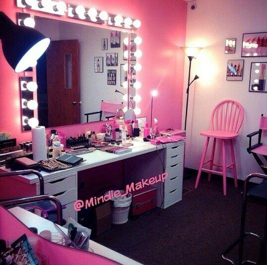 Makeup Vanity Goals Home Decor Pinterest Vanities Makeup And Makeup Va