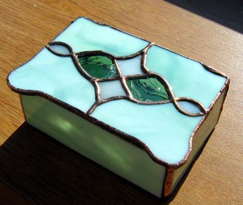 469 best Stained Glass Boxes images on Pinterest Glass boxes