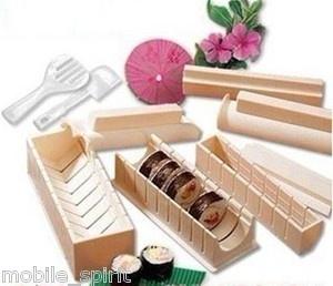 Sushi Master Sushi Maker Rice Mold making set with Recipe DIY Tools   eBay