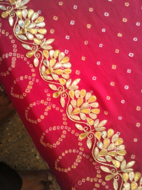 Gotta work On saree.. Get it done at http://mytailor.in/