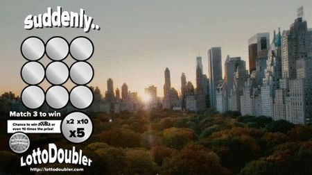 Suddenly.. you're in New York | Lottodoubler instant lottery