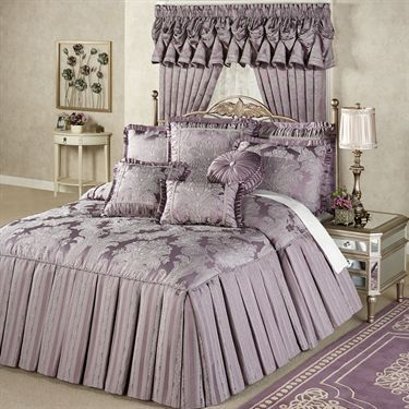 Ambience Tailored Damask Grande Bedspread Bedding