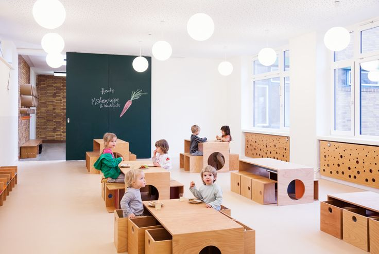 Flexible furniture = play, construction, blocks Sika Sinneswandel, Baukind Architects, Germany