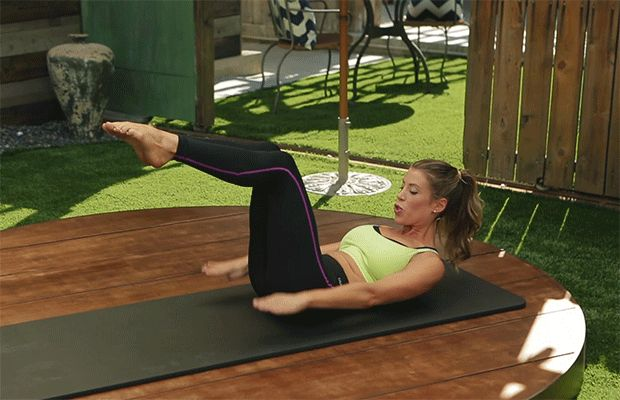 At the core of every Pilates practice is 'The 100,' which is designed to get your blood pumping and warm you up