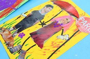 Divertida técnica de collage para niños | Blog de BabyCenter por @Carolina Krupinska Llinas