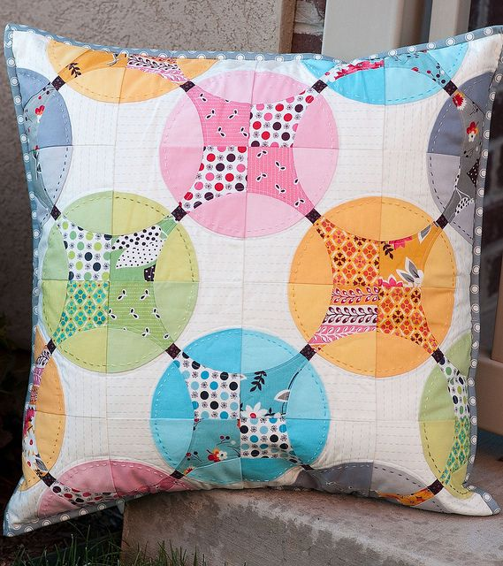 PTS9 Pillow Received by Pitter Putter Stitch, via Flickr  AMAZING