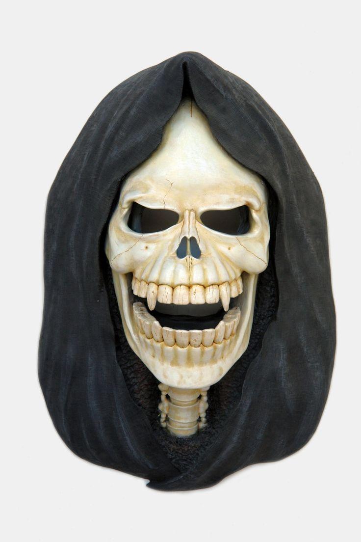 Gmail themes halloween - Pop Art Decoration Themes Motifs Halloween Horror Soul Taker Head