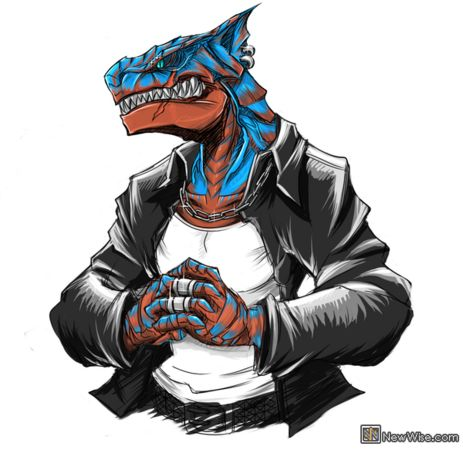 15 Monster Hunter monsters wearing suits