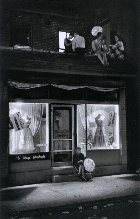 The Village Wardrobe. Pittsburgh, 1955. By W. Eugene Smith