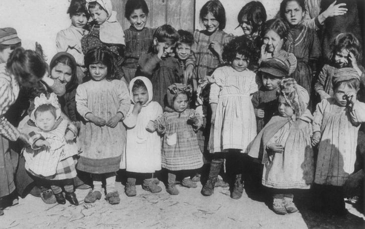 A group of children - Sicily