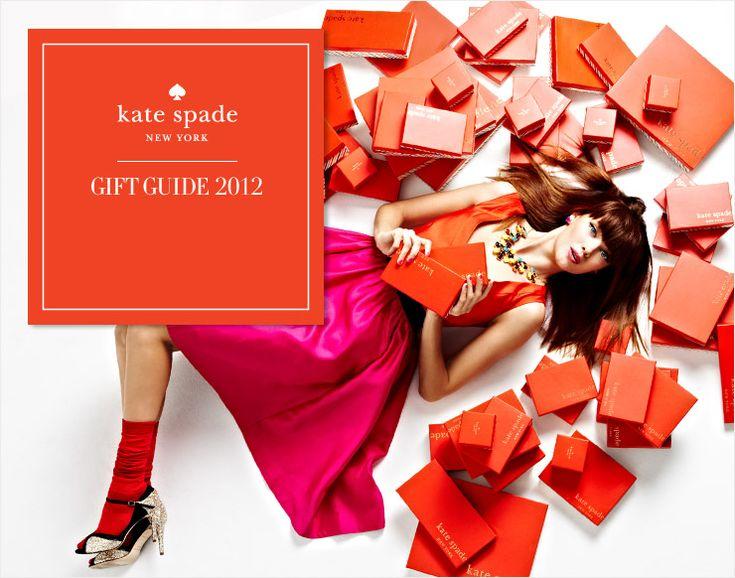 kate spade new york GIFT GUIDE 2012