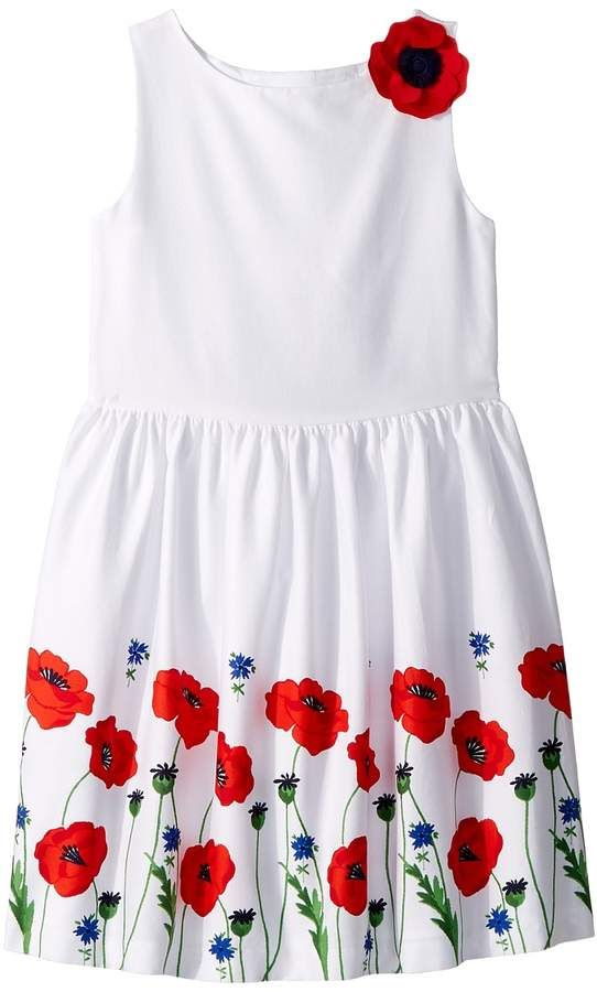17a2d10f10 Janie and Jack Poppy Border Print Dress Girl s Dress